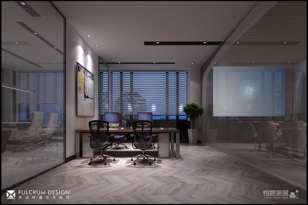 元捷集团办公室 —— 800平现代图_4