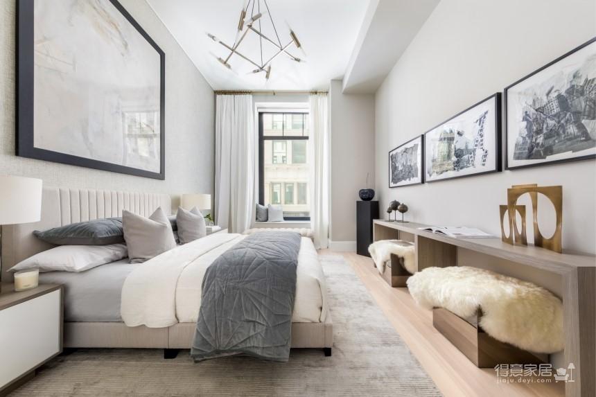 现代简约两居室,无可挑剔的华丽住宅