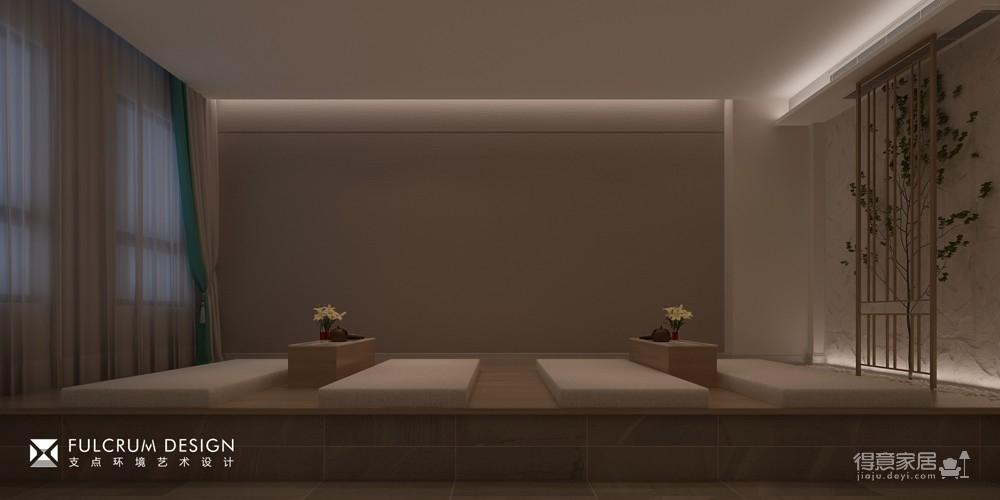 金地广场 · 足浴店 —— 539平现代简中式