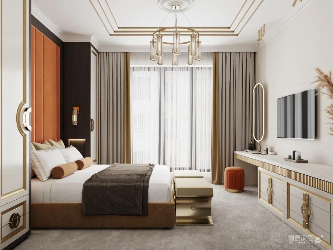 莫斯科126㎡三居室,意想不到的高级感!