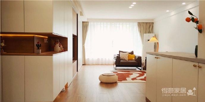 124平日式原木风,主题也很纯粹,日式原木、放松愉悦、充满自然气息的家