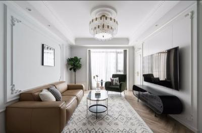 150平米优雅法式三居室