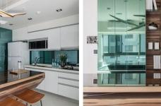 59㎡蓝白系单身公寓设计,散发着慵懒度假氛围!图_12