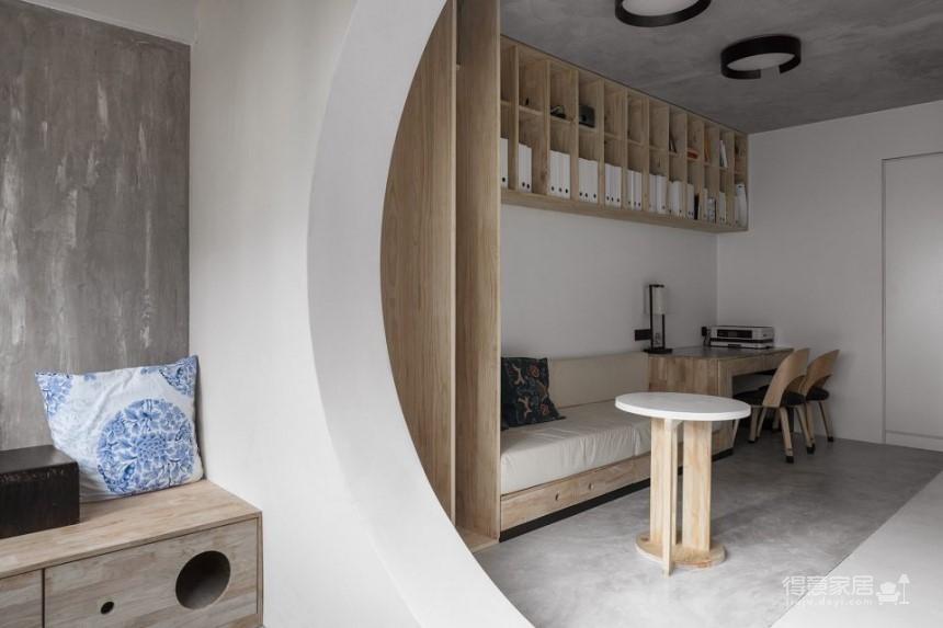 重庆71平米旧公寓改造设计,满足现代生活的新场所!