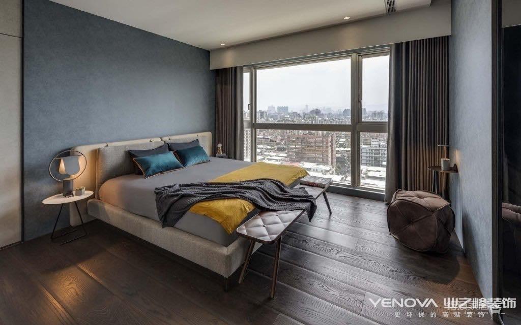 金湖听雨130平-现代轻奢风格设计