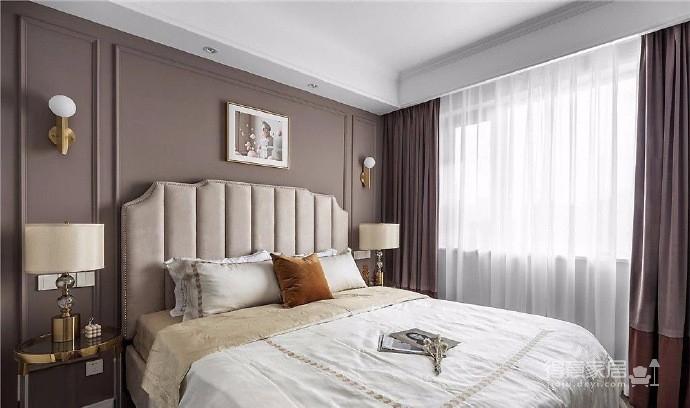 128㎡轻奢美式,以高级灰为主色调,在细节处打造空间的精致感