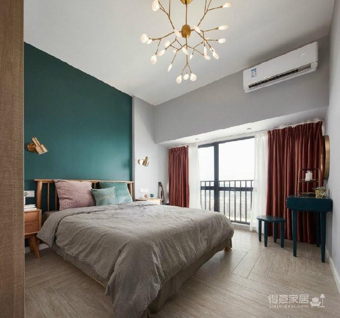 75㎡北欧风二居室,惬意舒适的清新休闲小窝,超爱! 