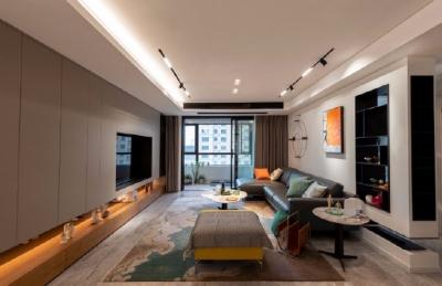 200平米现代简约四居室,关于方案并不是改动越大越好,适合的才是最好的