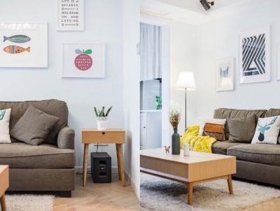 90㎡北欧风格家居装修设计,温馨舒适空间! 