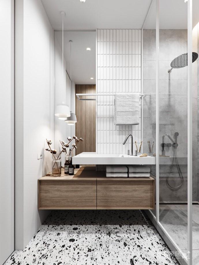 极简白+原木格调,让小家具有超高颜值。