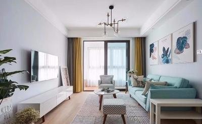 88平方的清新北欧,小家该有的模样。清新空间的搭配,又多了几分美感。
