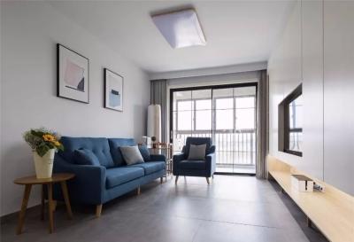 90平米现代北欧三居室简洁舒适而且很实用