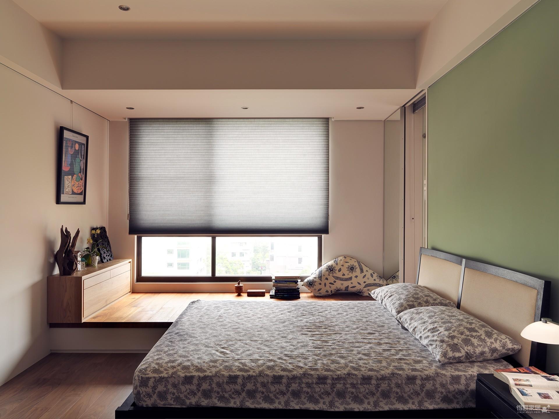88平两室现代多彩混搭风