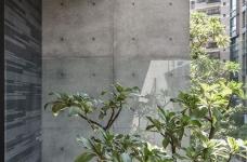 现代港式  木质和大理石的结合的背景墙图_16