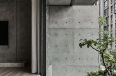 现代港式  木质和大理石的结合的背景墙图_17