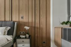 现代港式  木质和大理石的结合的背景墙图_25