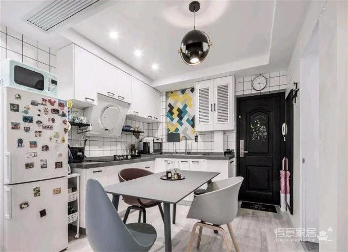 48㎡小公寓,整体收纳设计完全不用担心