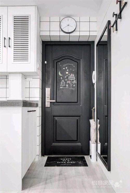 48㎡小公寓,整体收纳设计完全不用担心图_2