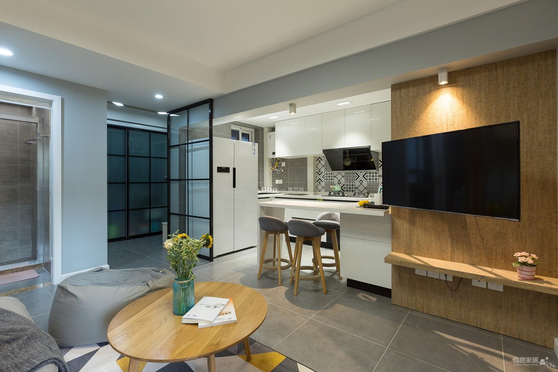 60平小公寓的空间利用图_13