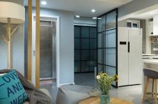 60平小公寓的空间利用图_1