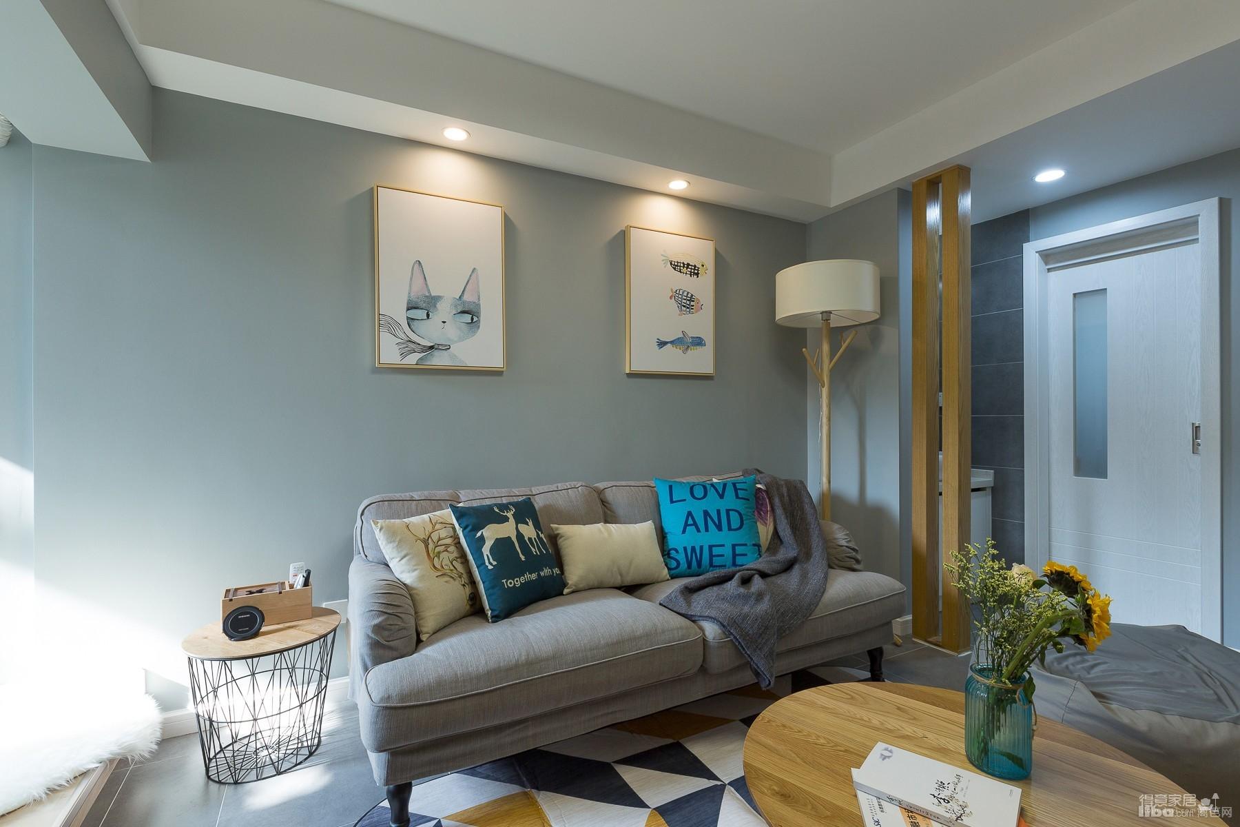 60平小公寓的空间利用图_3
