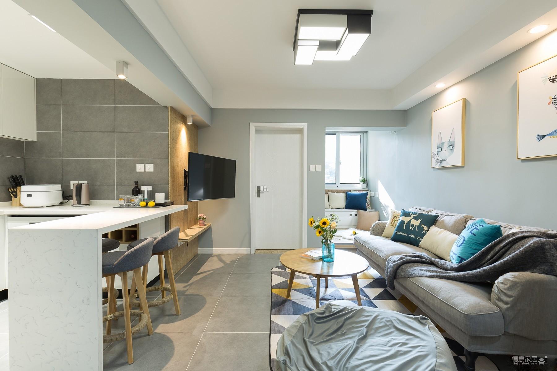 60平小公寓的空间利用图_12