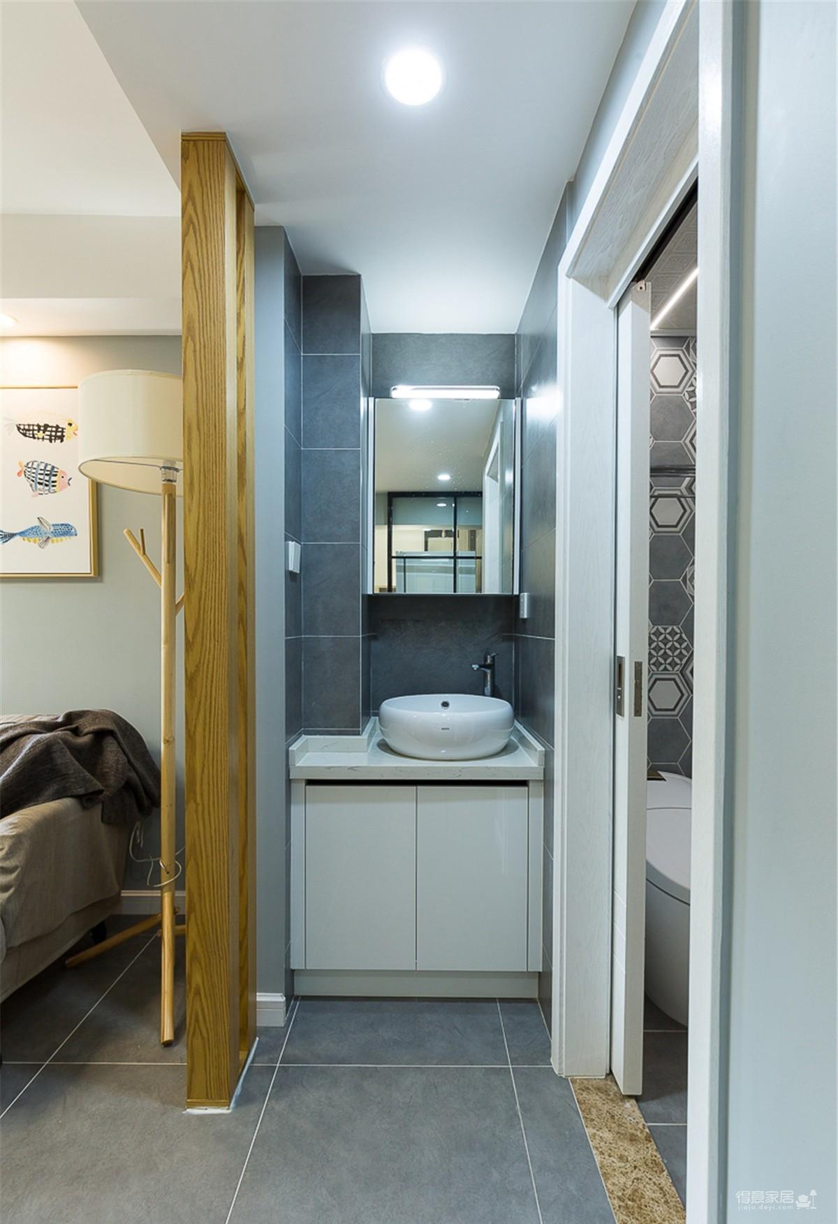 60平小公寓的空间利用图_8