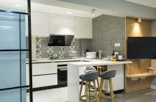 60平小公寓的空间利用图_2