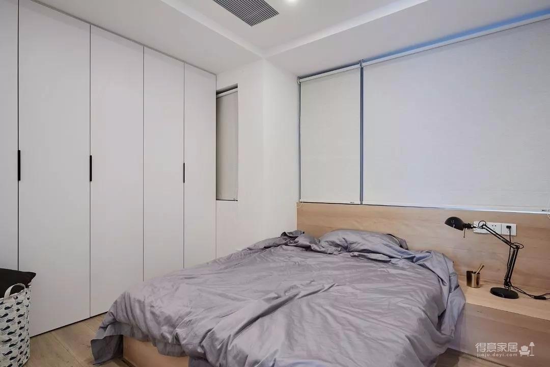 89㎡舒适3居,卧室只刷大蓝墙显高级图_4