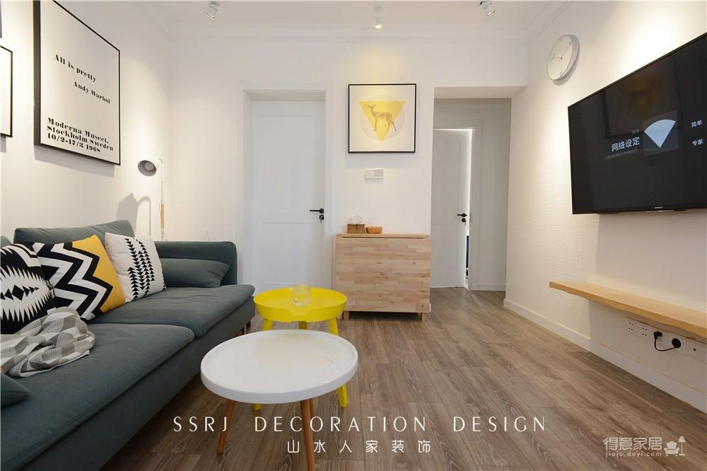 58平一室一厅改造空空间图_24