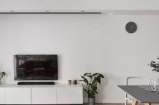 89㎡舒适3居,卧室只刷大蓝墙显高级图_2