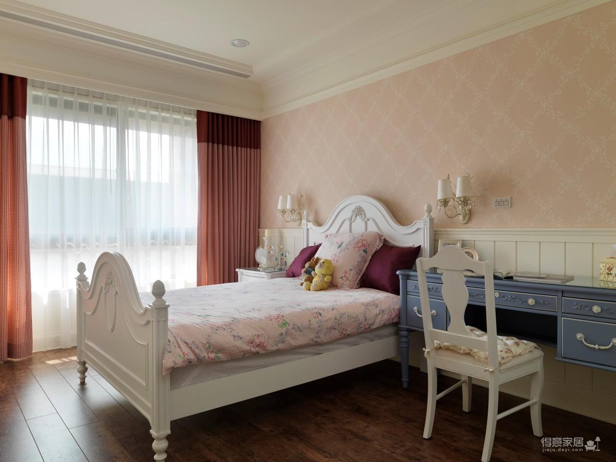 150平三室两厅恬静美式风