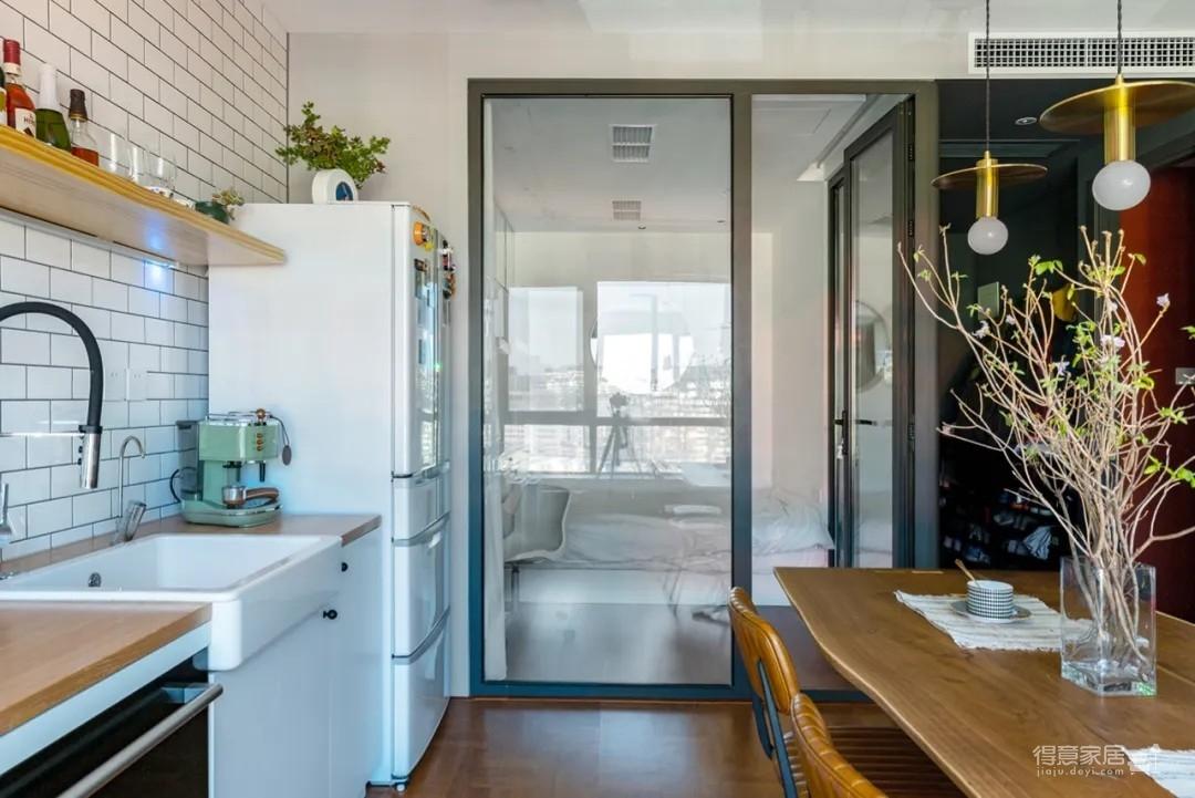 80㎡的小家,无窗区+小卧室,如何透气又明亮?