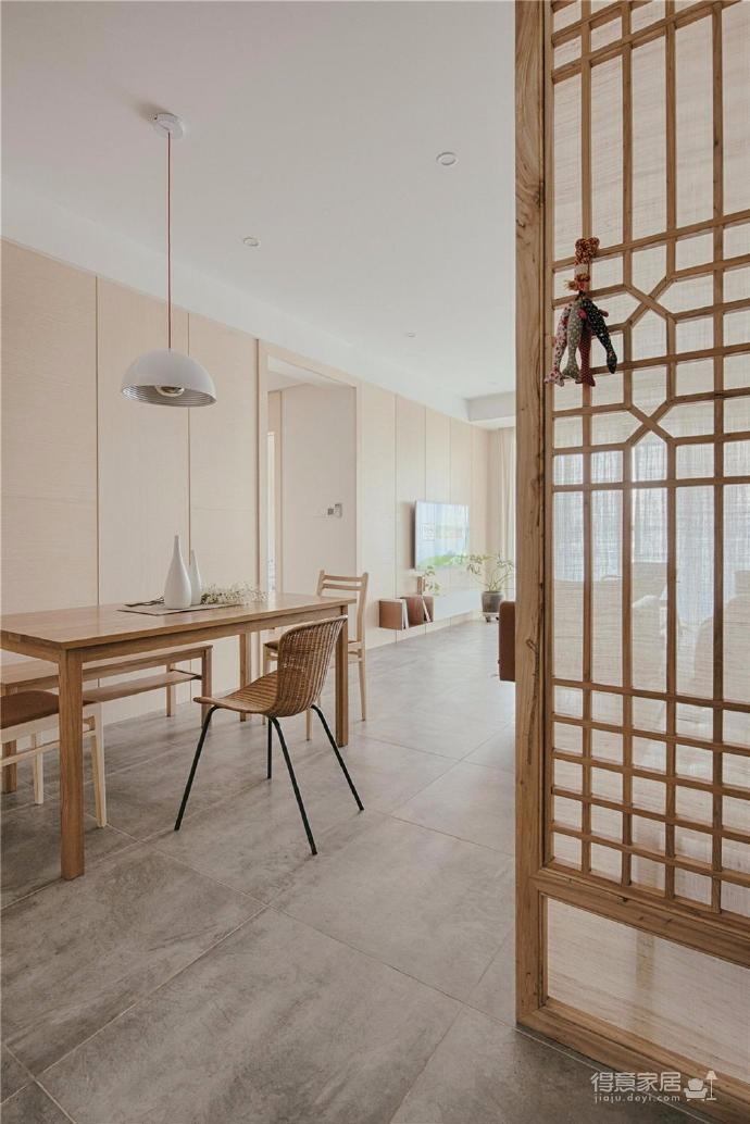100㎡日式风格装修,家是一个能释放压力的地方,最喜欢享受宅家的幸福、悠闲时光图_5