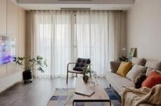 100㎡日式风格装修,家是一个能释放压力的地方,最喜欢享受宅家的幸福、悠闲时光图_1