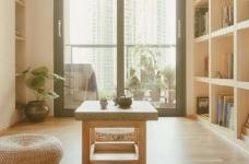 100㎡日式风格装修,家是一个能释放压力的地方,最喜欢享受宅家的幸福、悠闲时光图_4