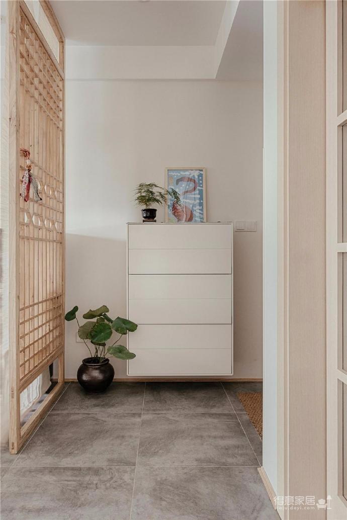 100㎡日式风格装修,家是一个能释放压力的地方,最喜欢享受宅家的幸福、悠闲时光图_2