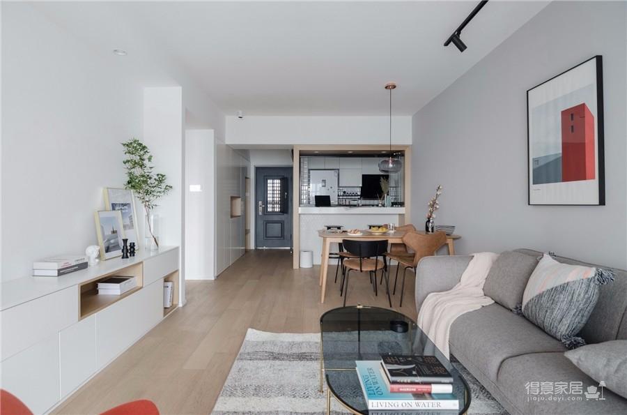 130平三居室北欧风格图_2