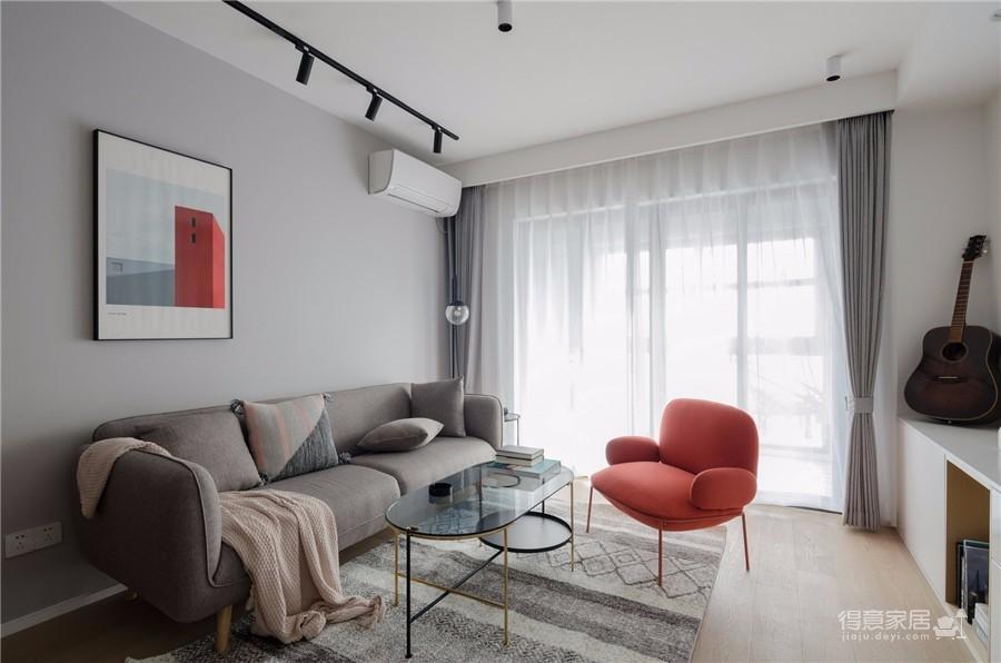 130平三居室北欧风格图_1