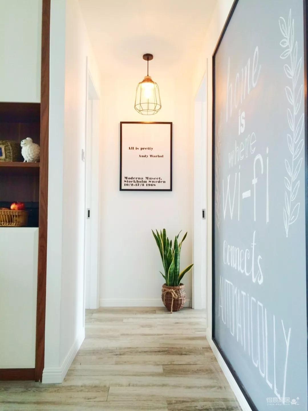 老公把墙这样装饰,直接把家提高一个档次!