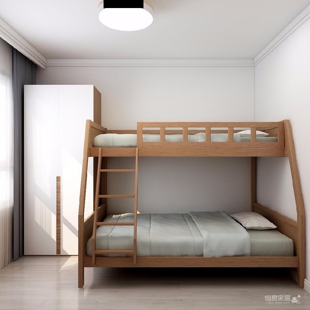 84平现代简约两居室
