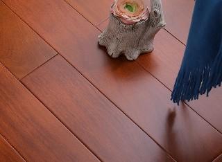纯实木地板龙凤檀