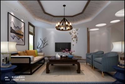 湾郡 —— 250平 / 新中式别墅