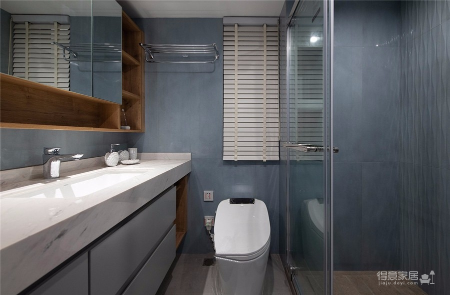 111平三居室现代轻奢风格