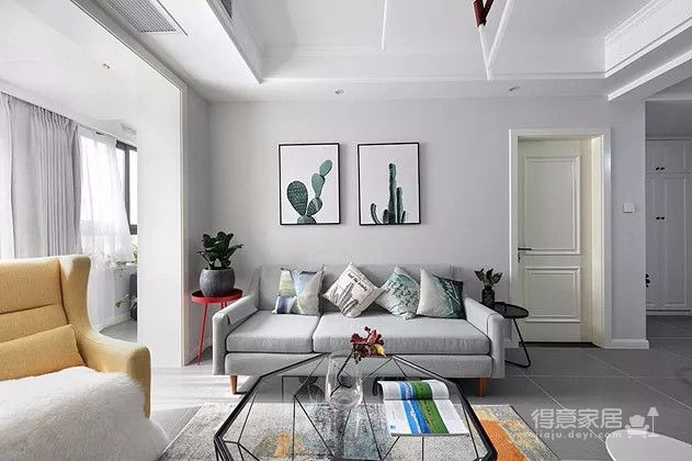 北欧风格-三居室