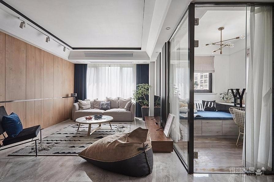 三居室北欧现代简约设计