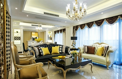 端庄华丽的豪宅,住出细腻精致的舒适感