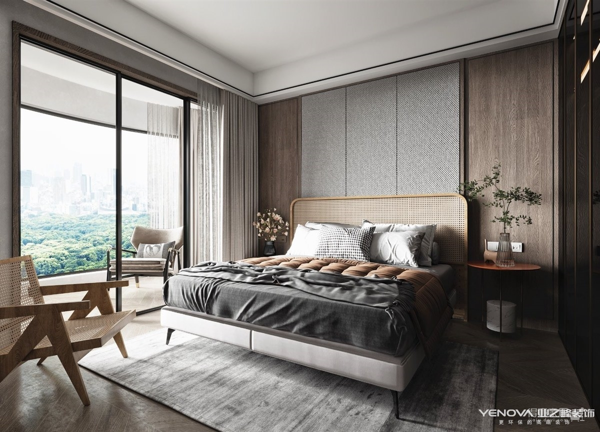 统建大江园145平-新中式风格