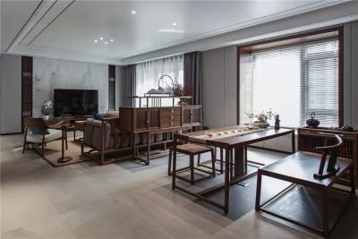 150㎡新中式住宅,年轻精英的家原来可以这样