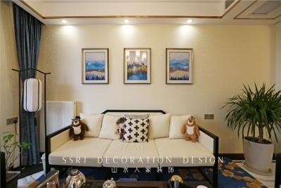 三室两厅124平新中式风